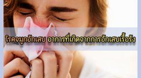โรคจมูกอักเสบ อาการที่เกิดจากการอักเสบเรื้อรัง